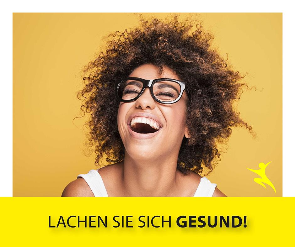 Lachen Sie sich gesund